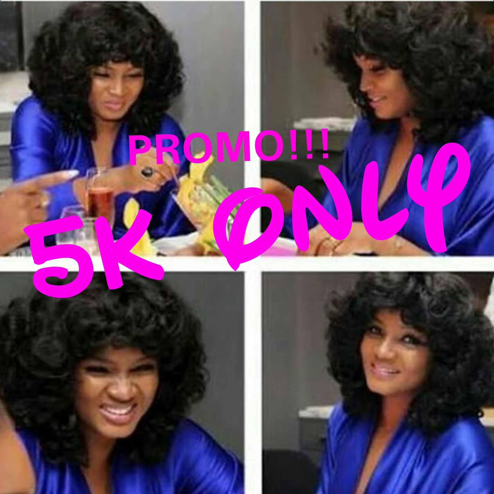 Get Best Female Braid and Omotola Wigs At 50% Discount Rate