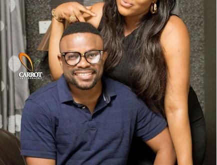 Comic Actor Okon Shares Lovely Family Photos To Mark Wedding Anniversary